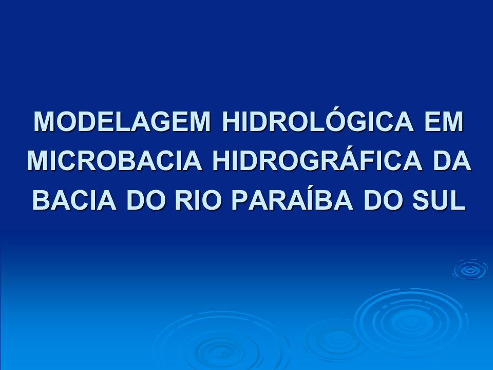 MODELAGEM HIDROLÓGICA EM MICROBACIA HIDROGRÁFICA DA BACIA DO RIO PARAÍBA DO SUL