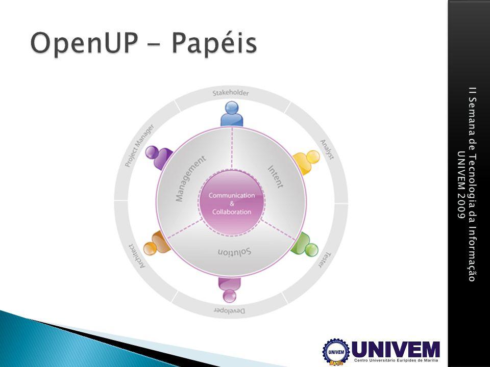 OpenUP - Papéis