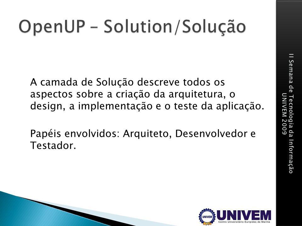 OpenUP – Solution/Solução