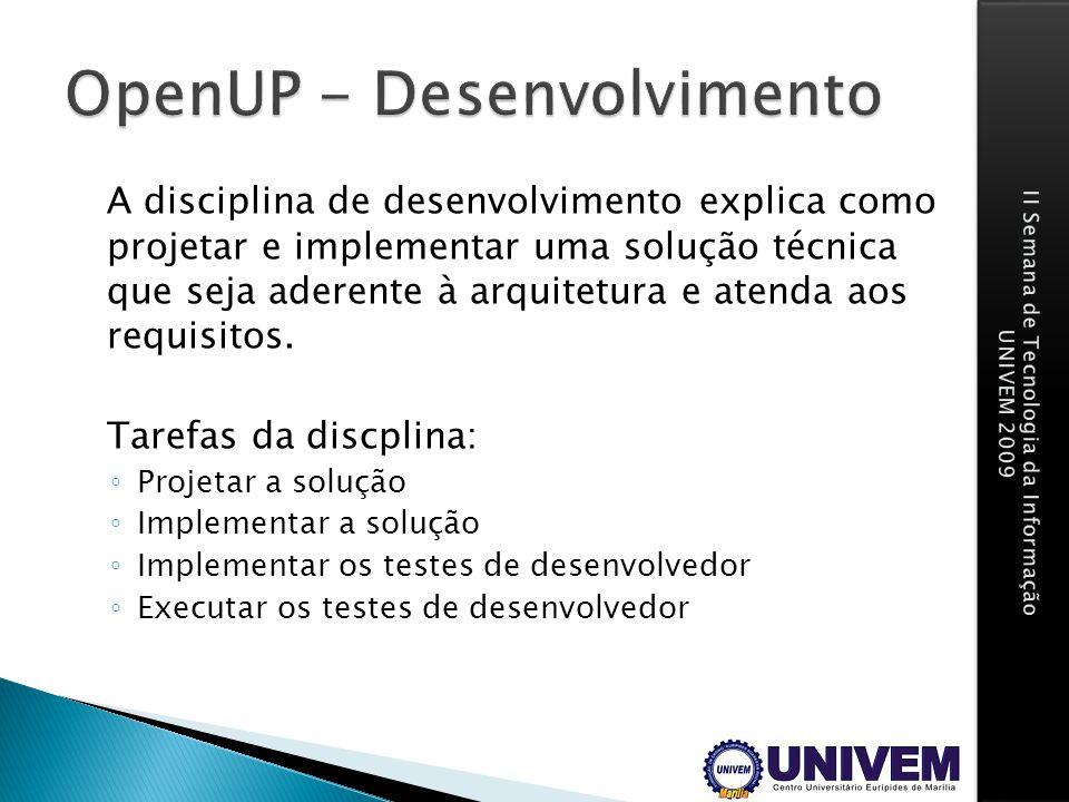 OpenUP - Desenvolvimento
