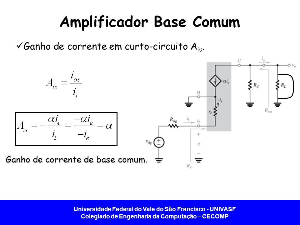 Amplificador Base Comum