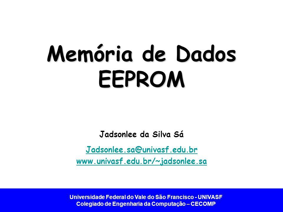 Memória de Dados EEPROM