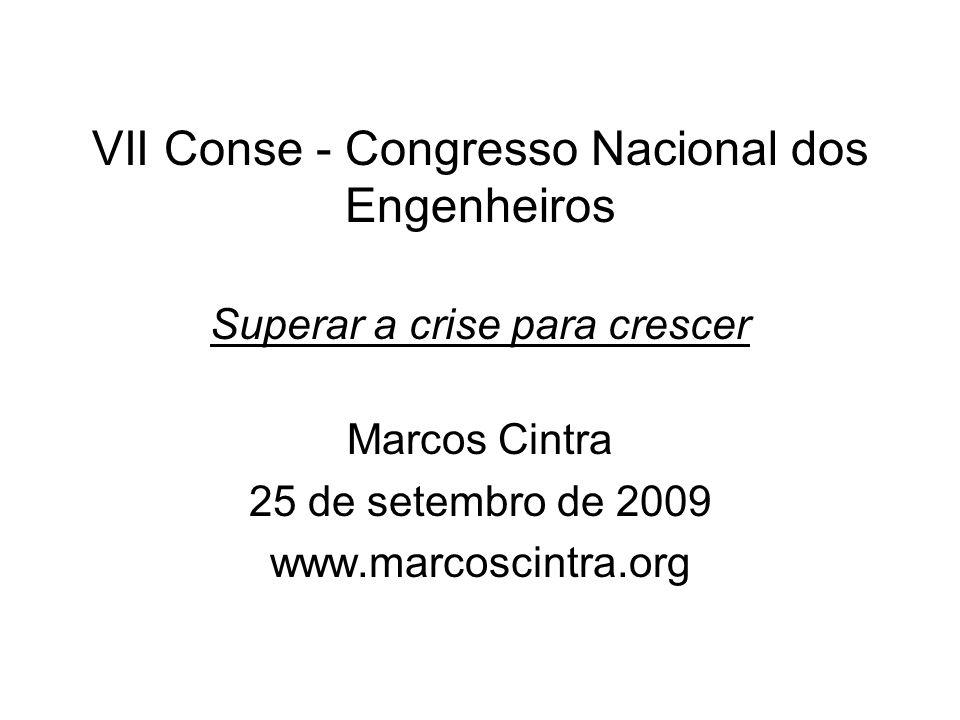 Marcos Cintra 25 de setembro de 2009 www.marcoscintra.org