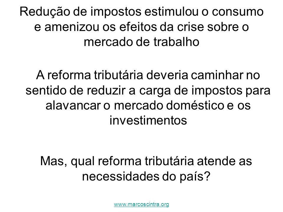 Mas, qual reforma tributária atende as necessidades do país
