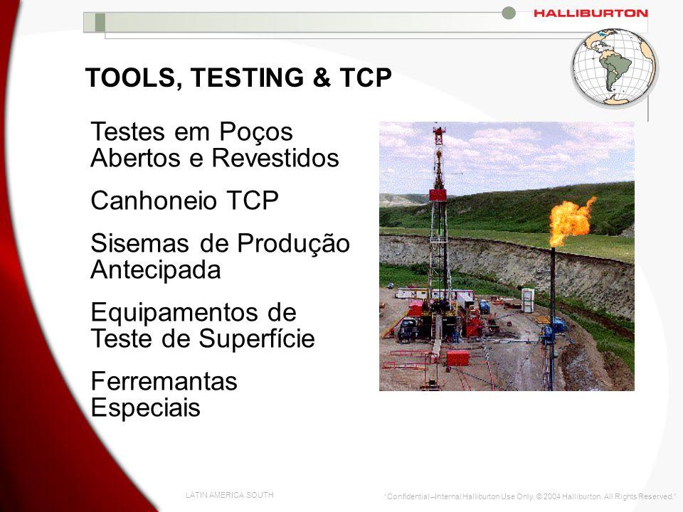 Testes em Poços Abertos e Revestidos Canhoneio TCP