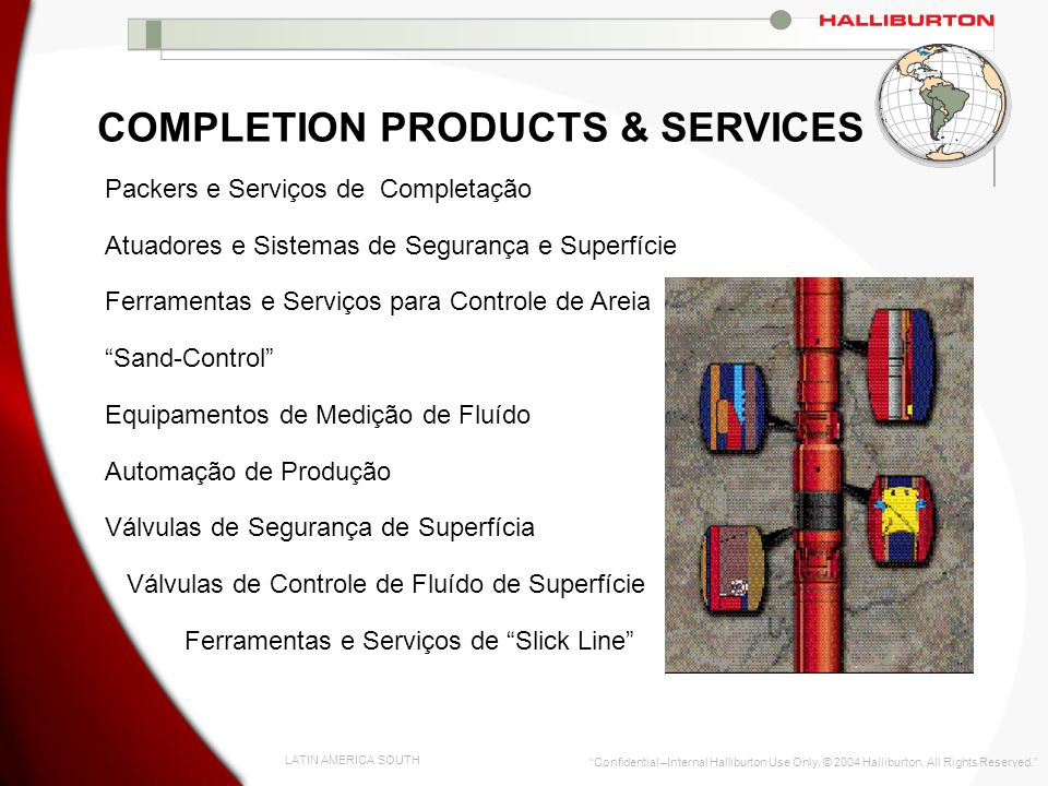 COMPLETION PRODUCTS & SERVICES