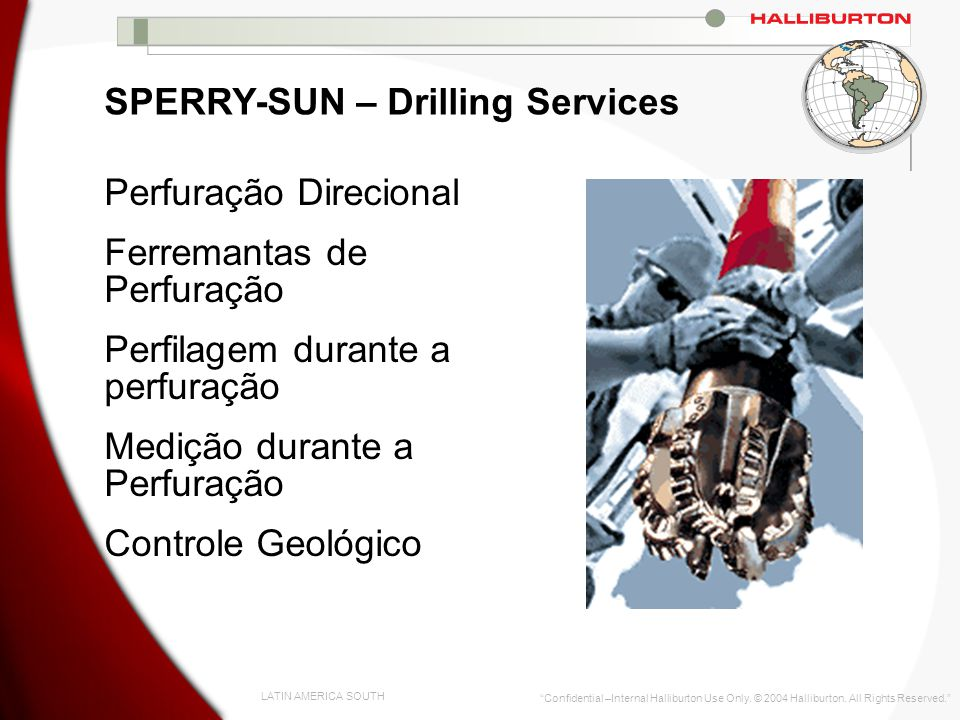 SPERRY-SUN – Drilling Services