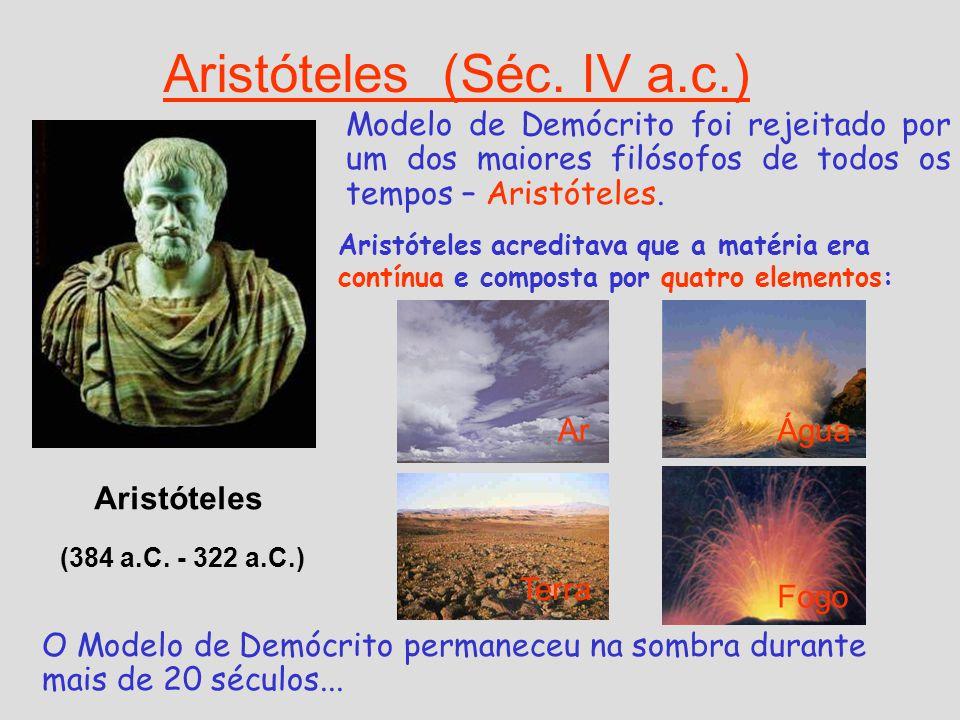 Aristóteles (Séc. IV a.c.)