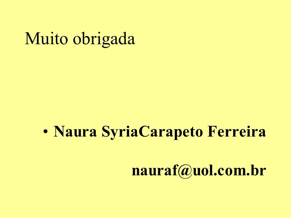 Muito obrigada Naura SyriaCarapeto Ferreira nauraf@uol.com.br.