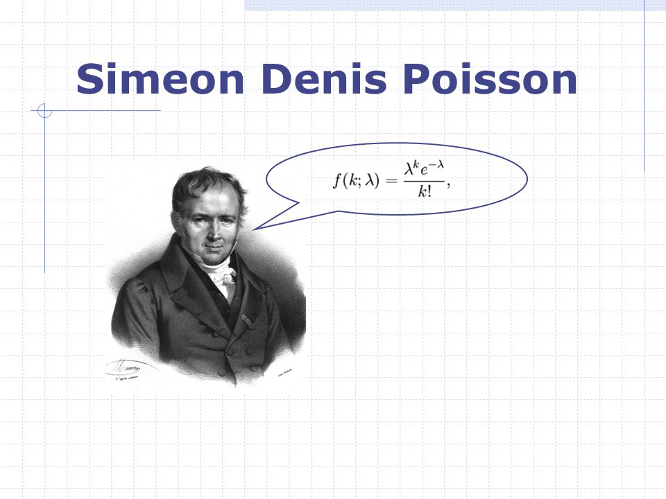 Simeon Denis Poisson