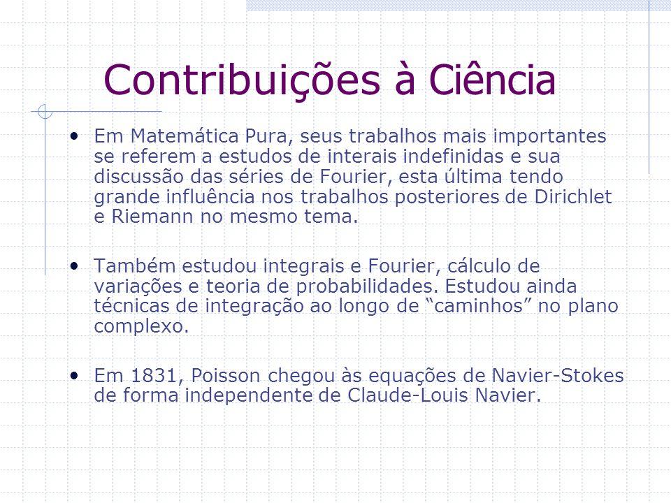 Contribuições à Ciência