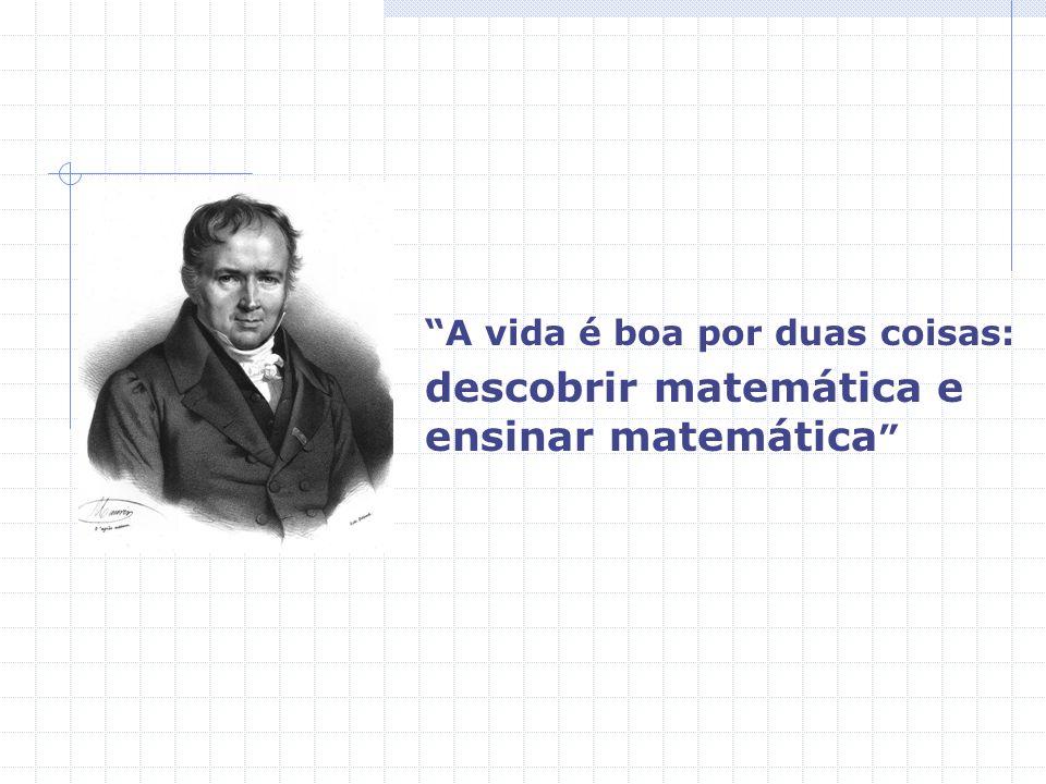 descobrir matemática e ensinar matemática