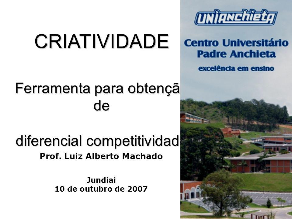 Prof. Luiz Alberto Machado