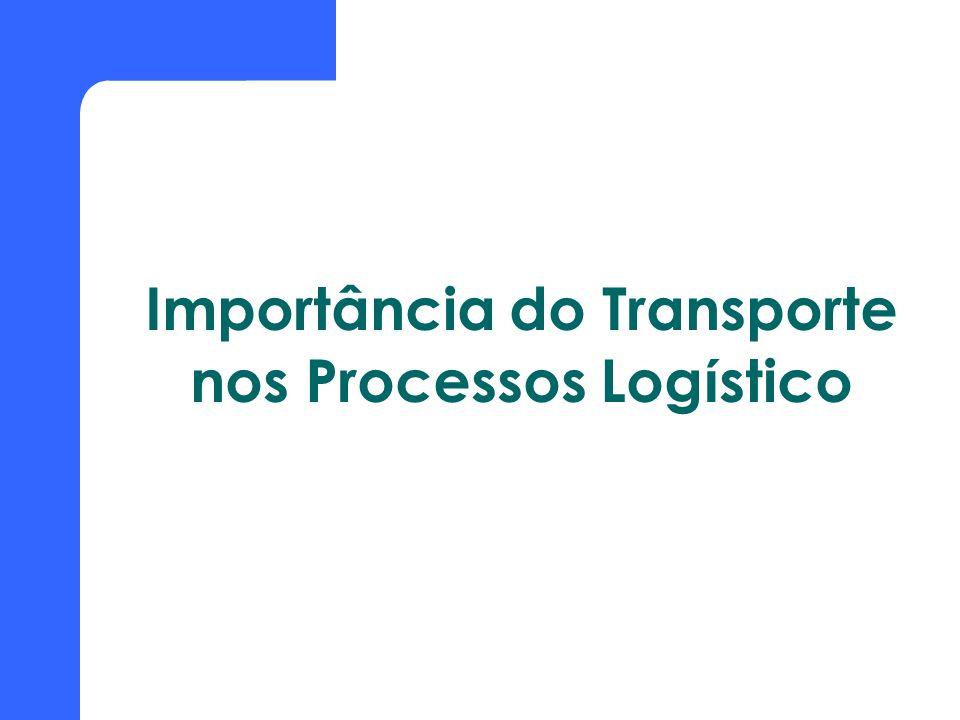 Importância do Transporte nos Processos Logístico
