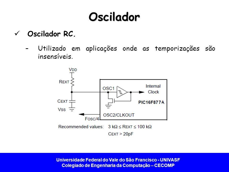 Oscilador Oscilador RC.