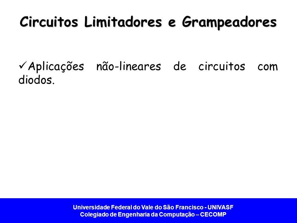 Circuitos Limitadores e Grampeadores