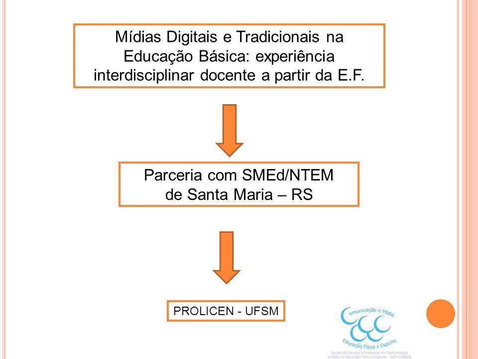 Parceria com SMEd/NTEM