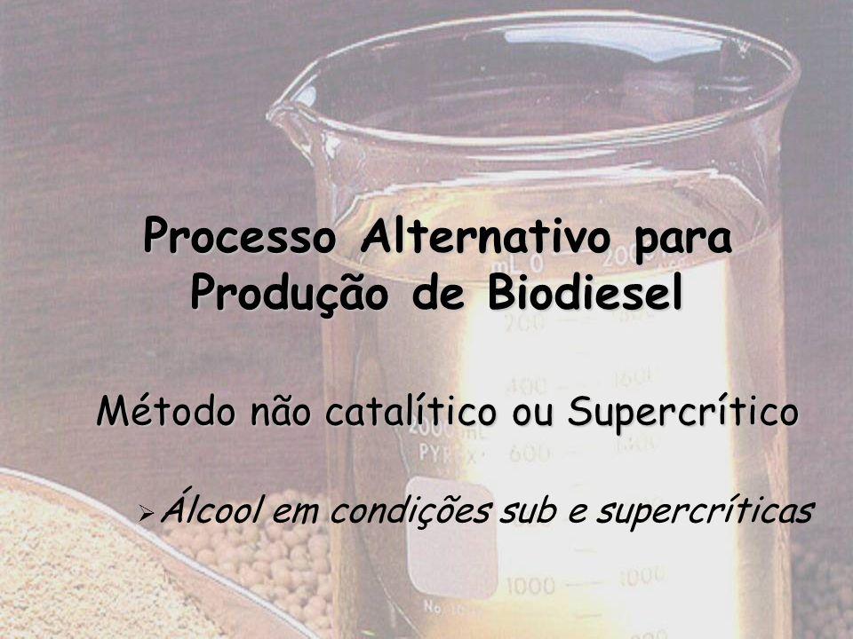 Processo Alternativo para Produção de Biodiesel