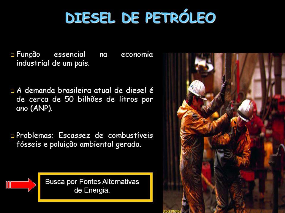 Busca por Fontes Alternativas de Energia.