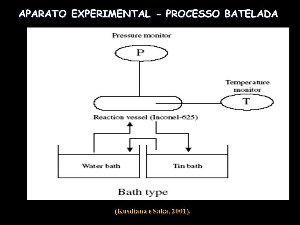 APARATO EXPERIMENTAL - PROCESSO BATELADA