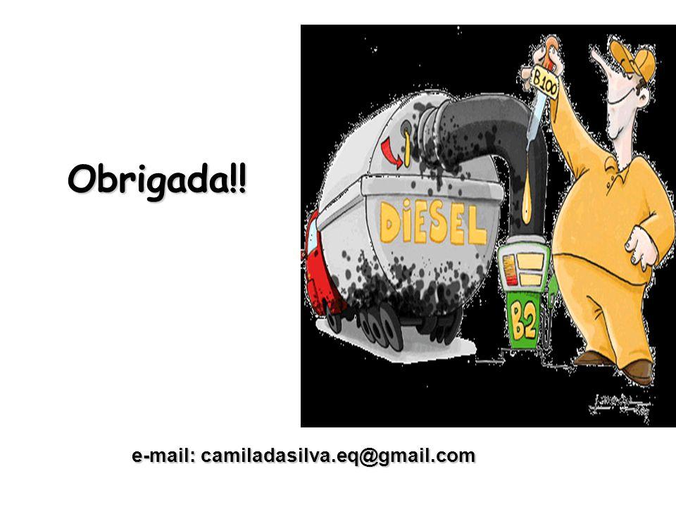 Obrigada!! e-mail: camiladasilva.eq@gmail.com