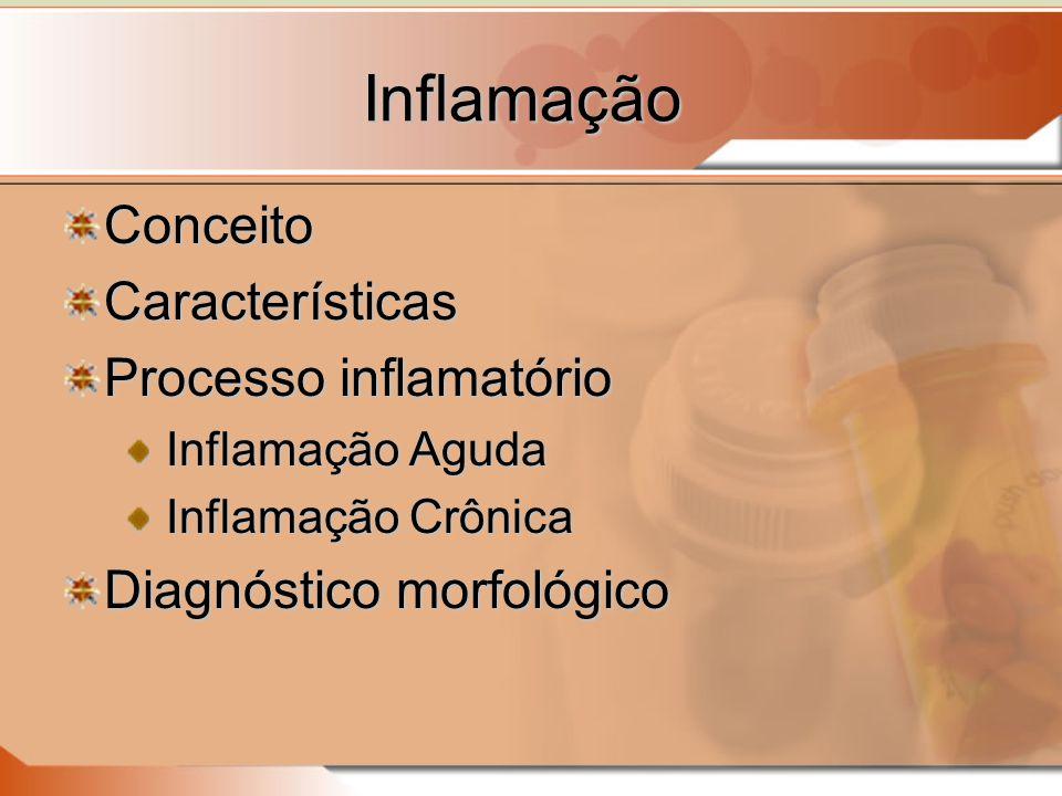 Inflamação Conceito Características Processo inflamatório