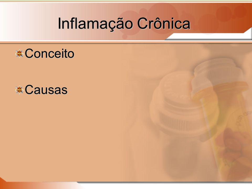 Inflamação Crônica Conceito Causas