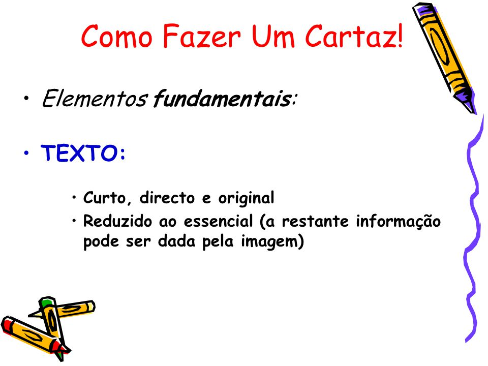 Elementos fundamentais: TEXTO: