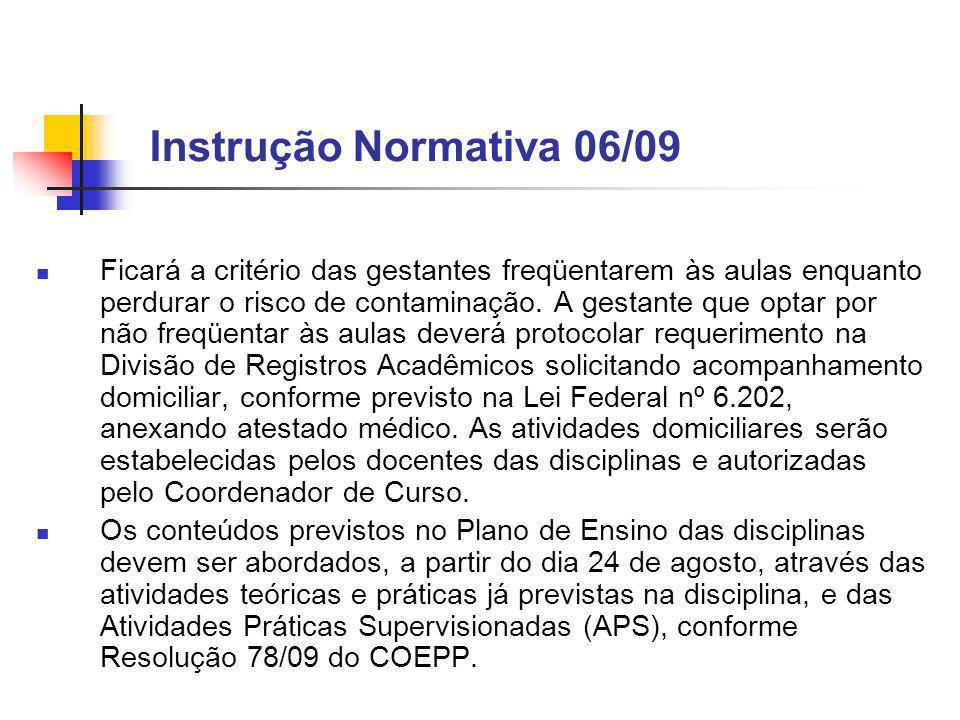 Instrução Normativa 06/09