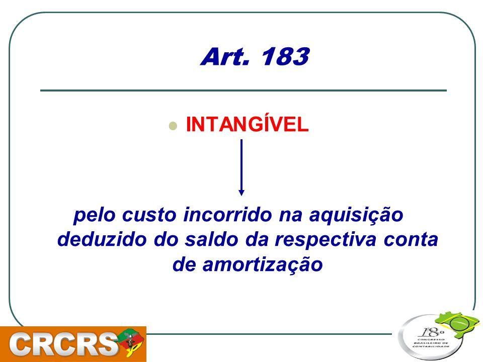 Art. 183 INTANGÍVEL.