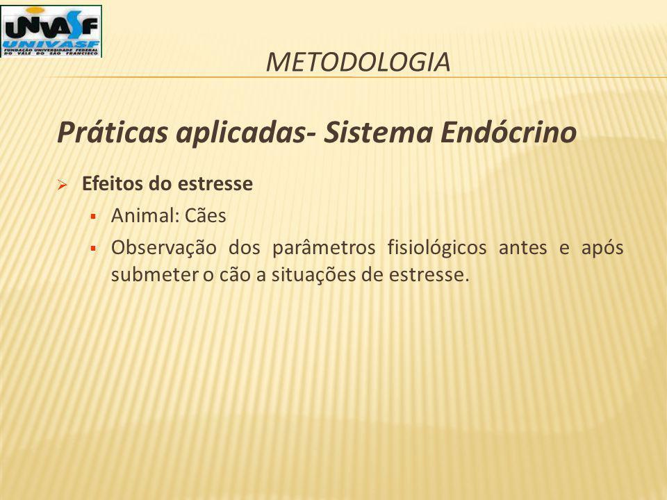 Práticas aplicadas- Sistema Endócrino