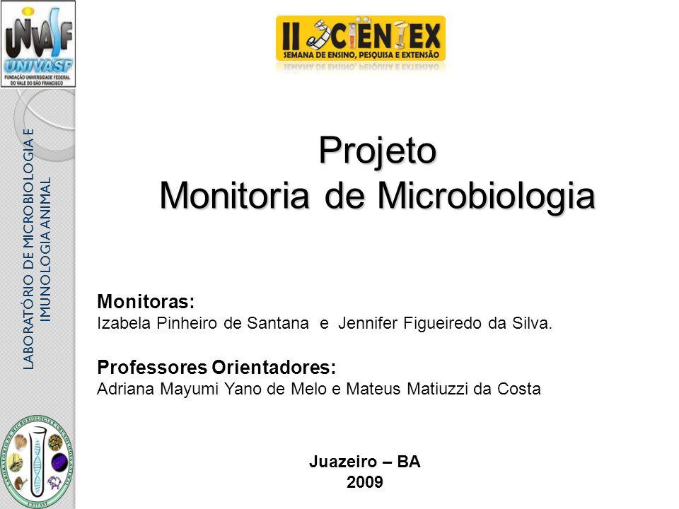 Monitoria de Microbiologia