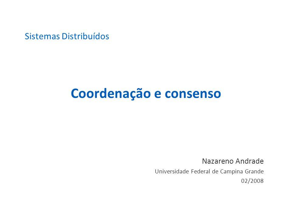 Coordenação e consenso