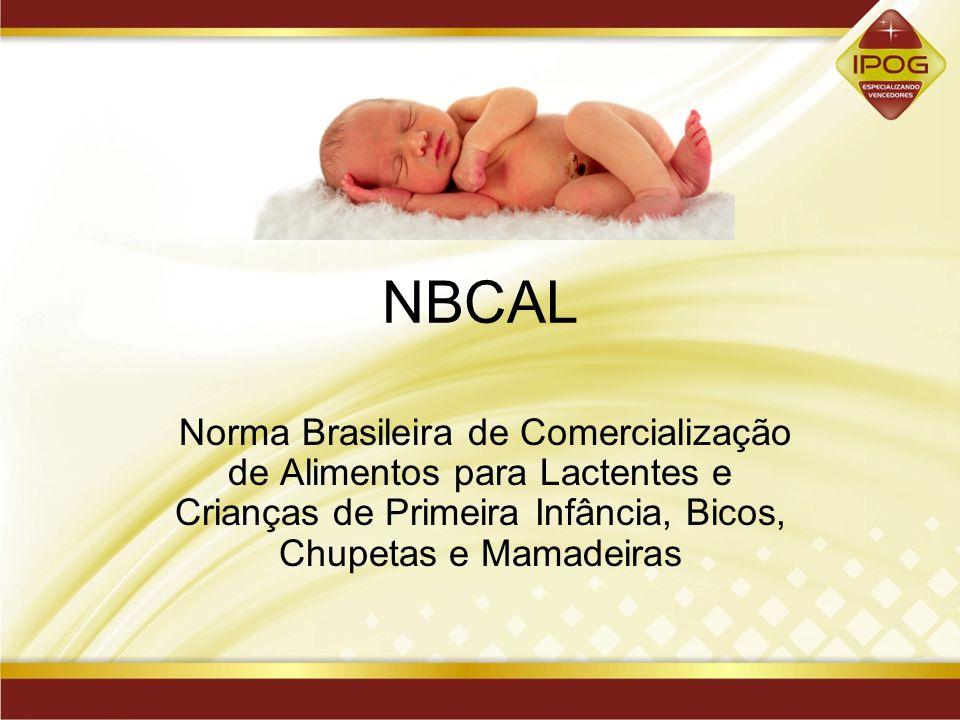 NBCAL Norma Brasileira de Comercialização de Alimentos para Lactentes e Crianças de Primeira Infância, Bicos, Chupetas e Mamadeiras.