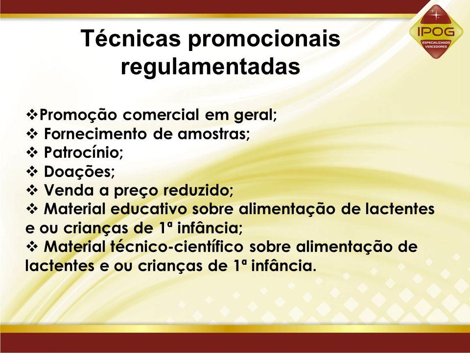 Técnicas promocionais regulamentadas