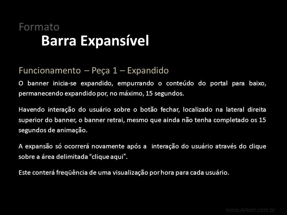 Barra Expansível Formato Funcionamento – Peça 1 – Expandido