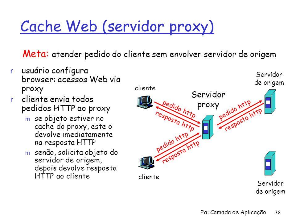 Cache Web (servidor proxy)