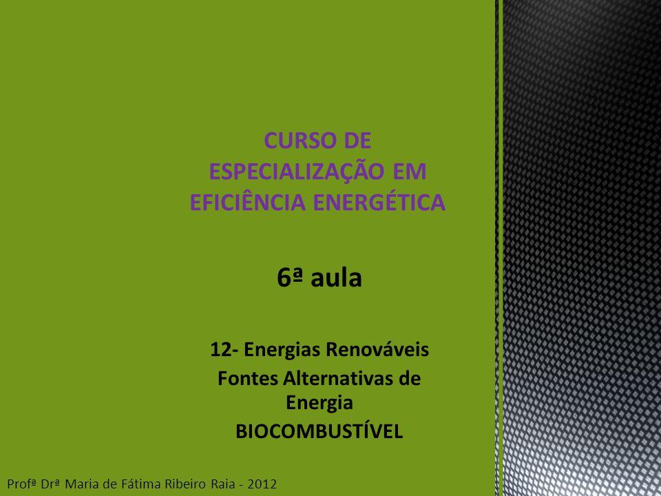 6ª aula CURSO DE ESPECIALIZAÇÃO EM EFICIÊNCIA ENERGÉTICA