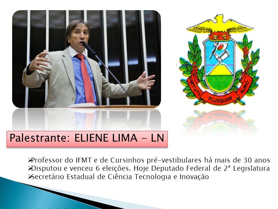 Palestrante: ELIENE LIMA - LN