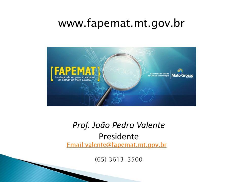 Prof. João Pedro Valente