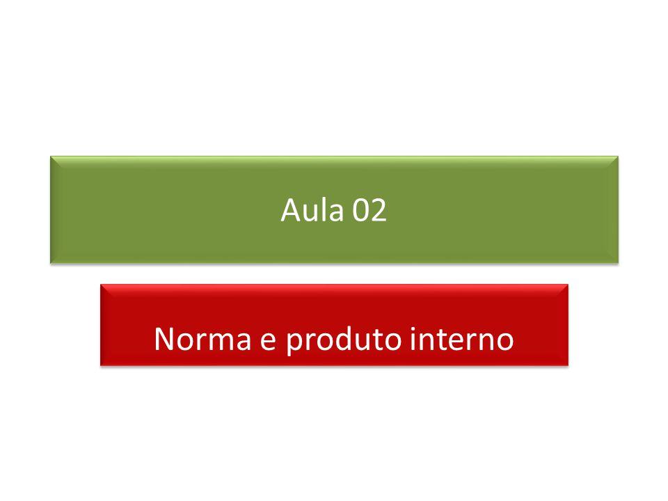 Norma e produto interno
