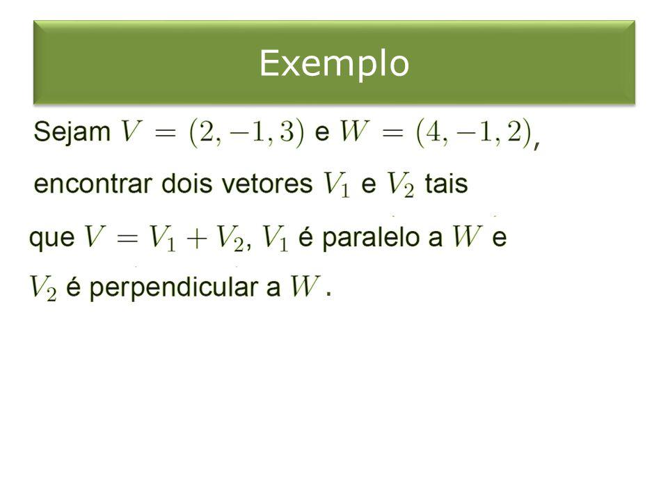 Exemplo , .