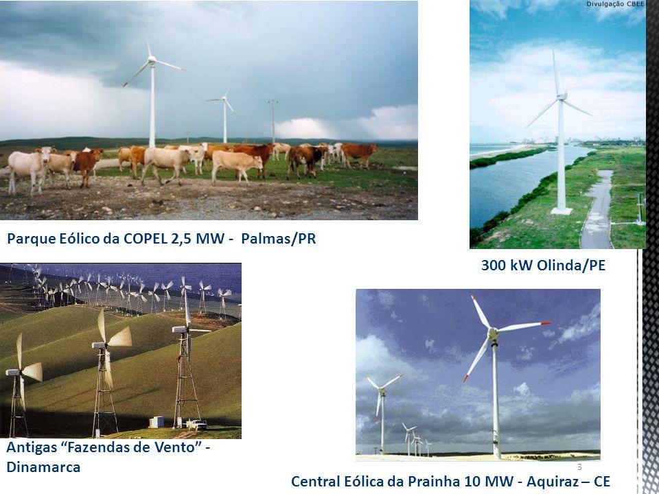 Parque Eólico da COPEL 2,5 MW - Palmas/PR