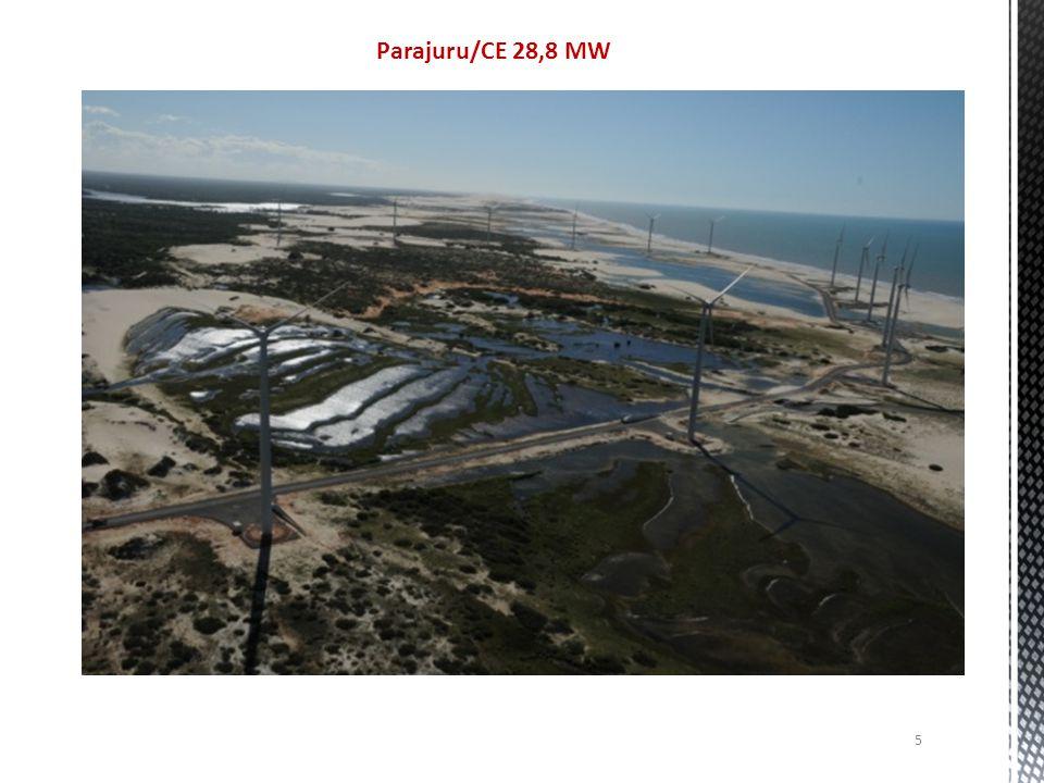 Parajuru/CE 28,8 MW