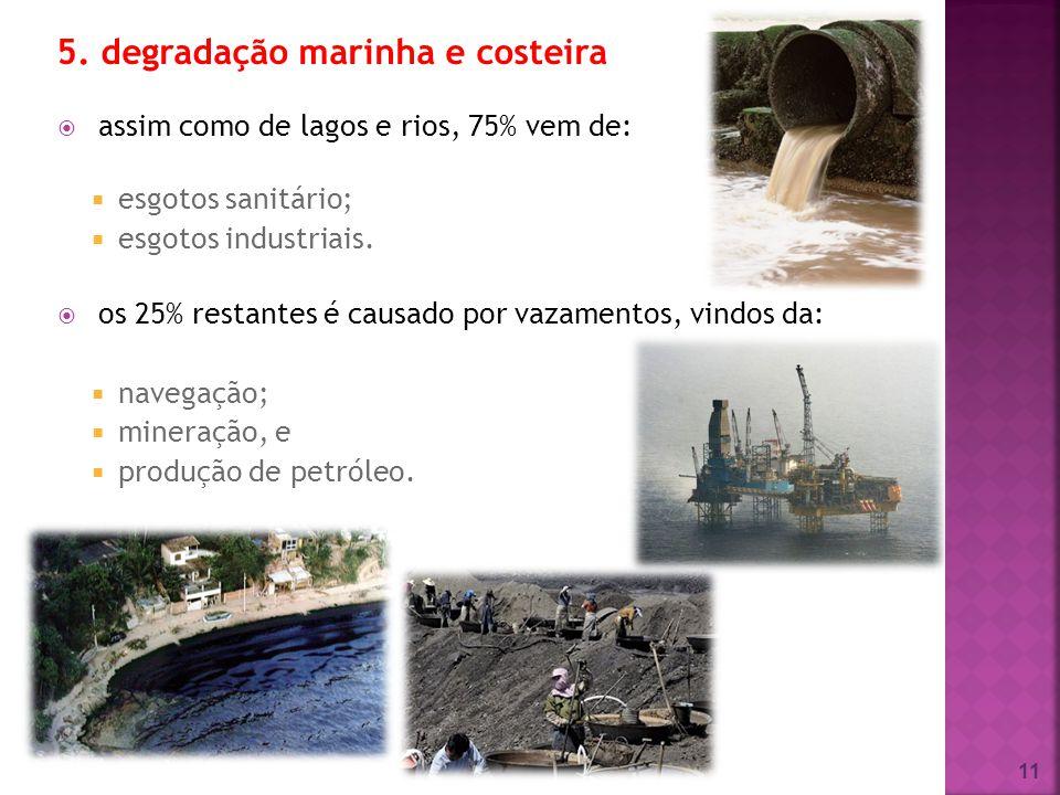 5. degradação marinha e costeira