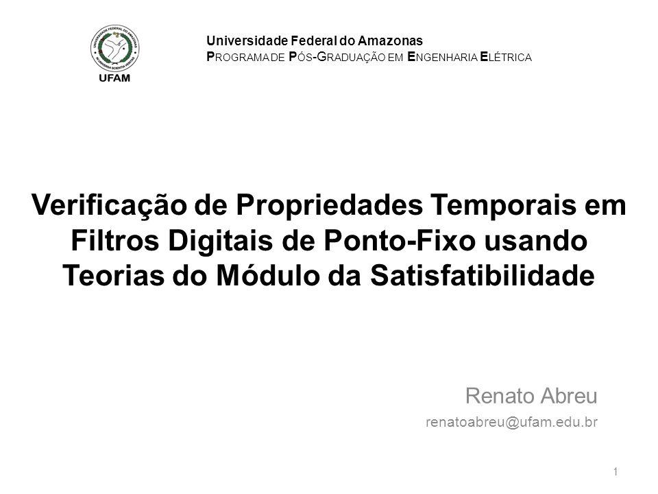 Renato Abreu renatoabreu@ufam.edu.br