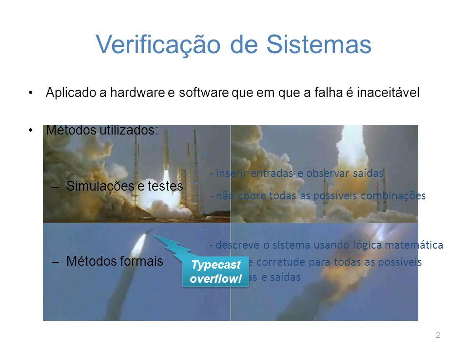 Verificação de Sistemas