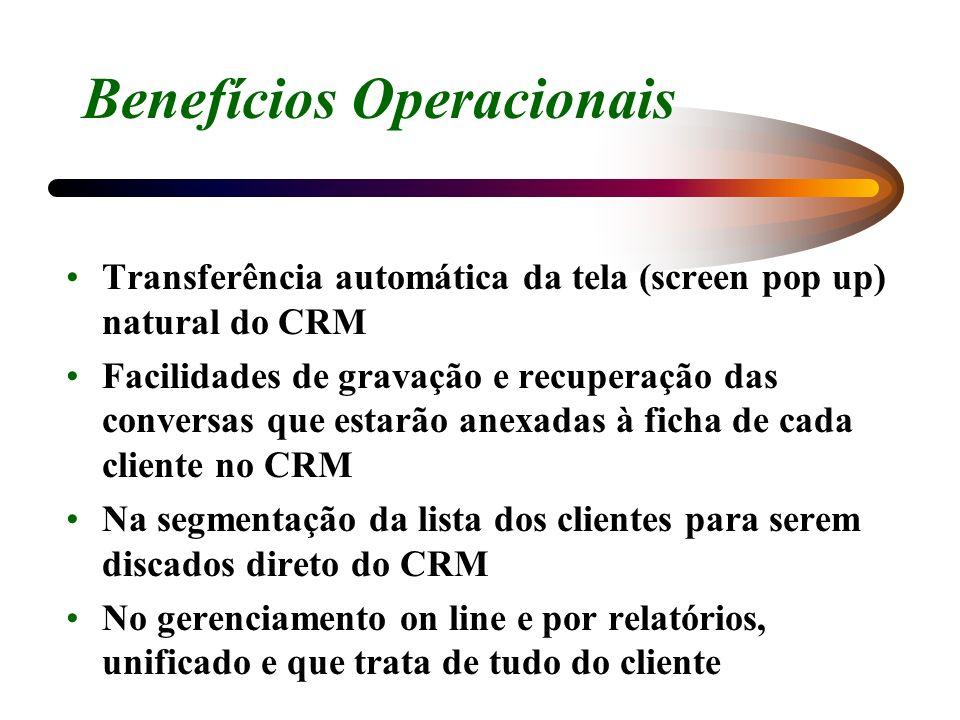 Benefícios Operacionais