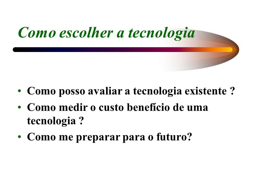 Como escolher a tecnologia
