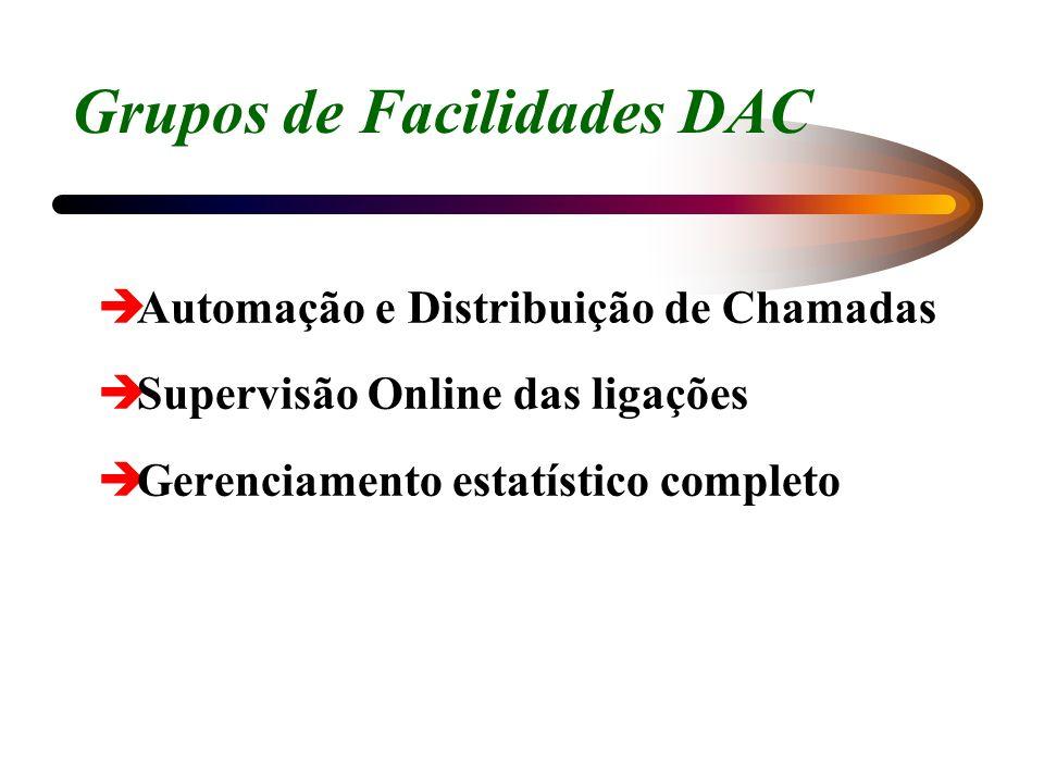 Grupos de Facilidades DAC